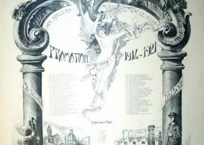 Promotions Châlons 1914 - 1921